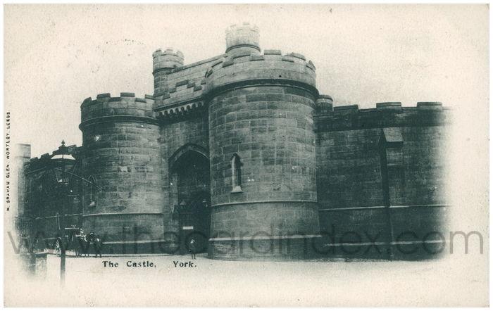 Postcard front: The Castle, York