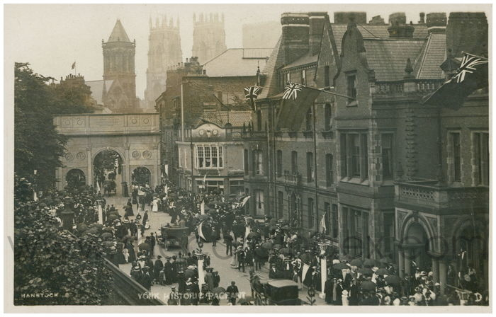 Postcard front: York Historic Pageant