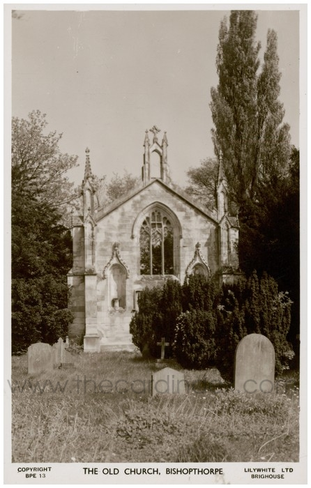 Postcard front: The Old Church, Bishopthorpe