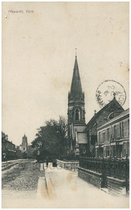 Postcard front: Heworth, York
