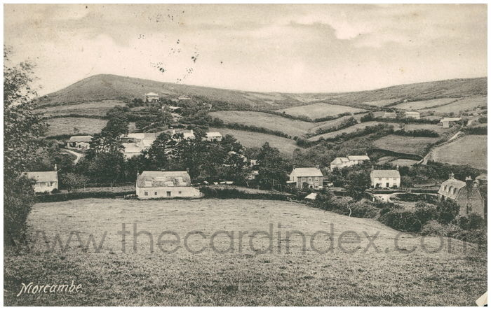 Postcard front: Morcambe