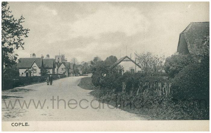 Postcard front: Cople.