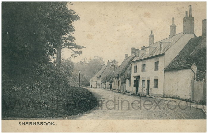 Postcard front: Sharnbrook.