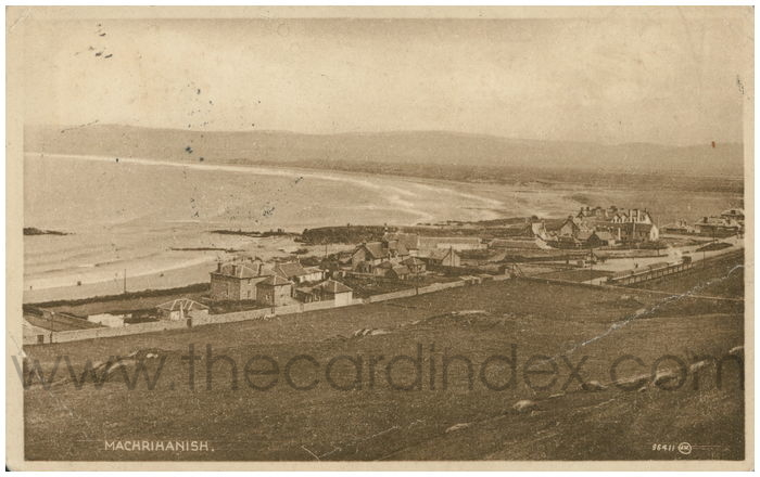 Postcard front: Machrihanish.