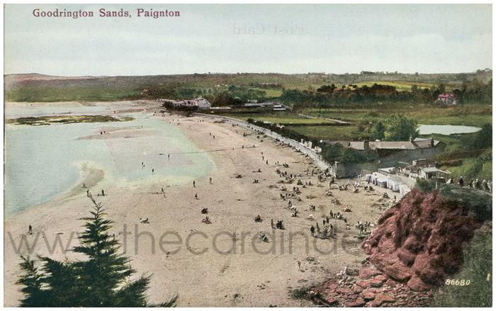Postcard front: Goodrington Sands, Paignton.