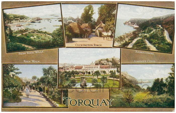 Postcard front: Torquay