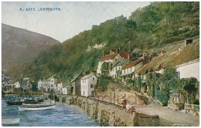 Postcard front: Lynmouth.