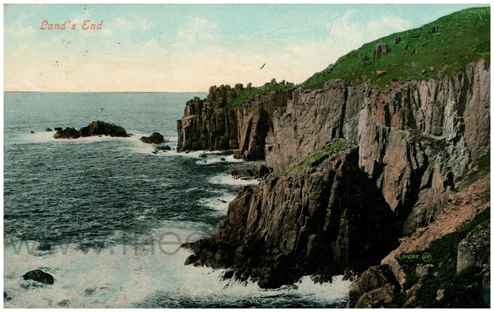 Postcard front: Land's End