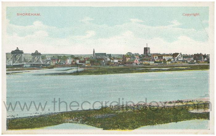 Postcard front: Shoreham.