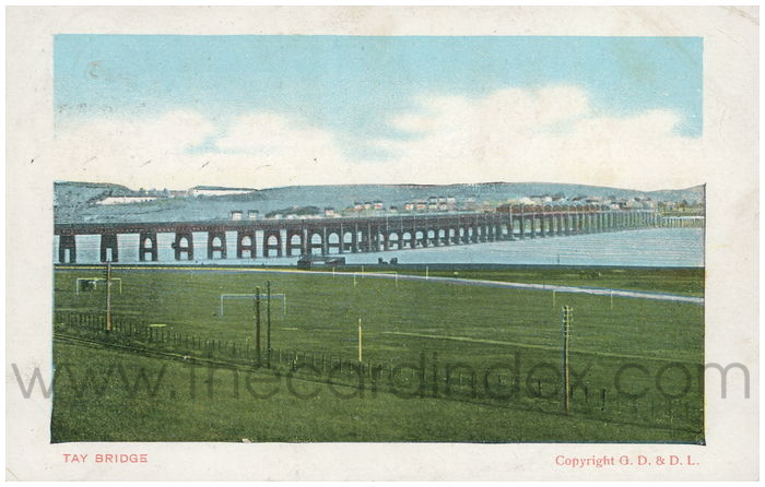 Postcard front: Tay Bridge.