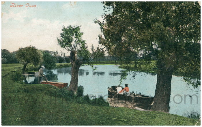 Postcard front: River Ouse