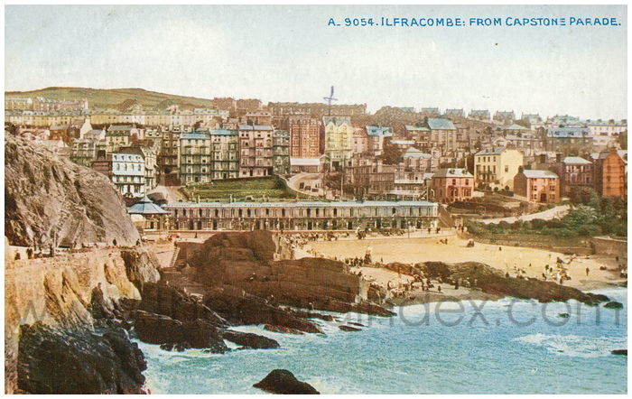 Postcard front: Ilfracombe: From Capstone Parade.