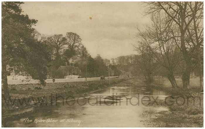 Postcard front: The River Colne at Bibury