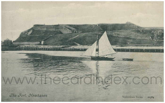 Postcard front: The Fort, Newhaven