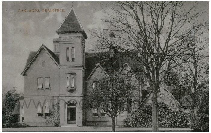Postcard front: Oaklands Braintree