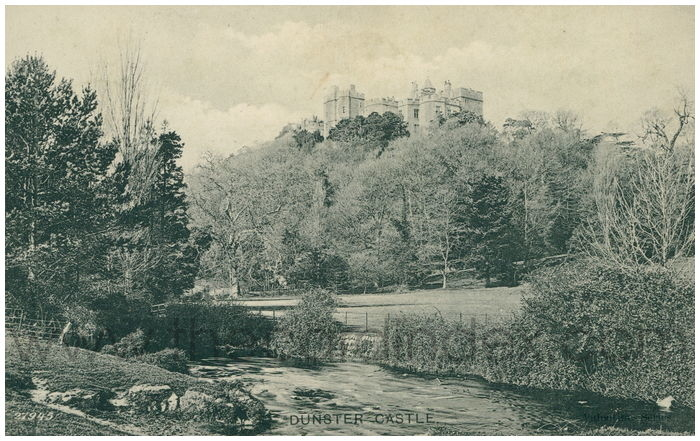 Postcard front: Dunster Castle