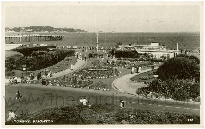 Postcard front: Torbay, Paignton