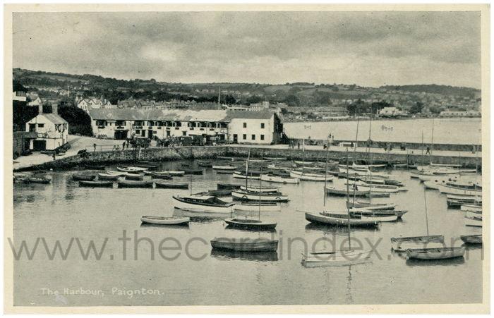 Postcard front: The Harbour, Paignton