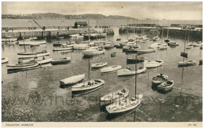Postcard front: Paignton Harbour