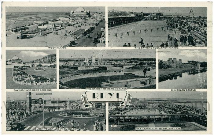 Postcard front: Rhyl