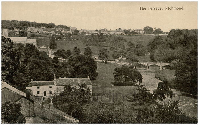 Postcard front: The Terrace, Richmond