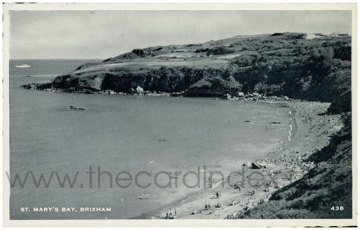 Postcard front: St. Mary's Bay, Brixham.