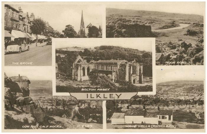 Postcard front: Ilkley