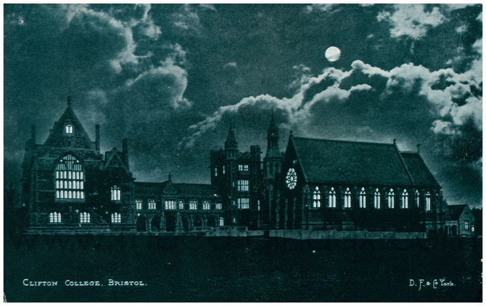 Postcard front: Clifton College, Bristol