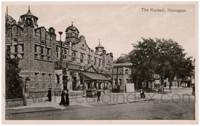 Postcard front: The Kursaal, Harrogate