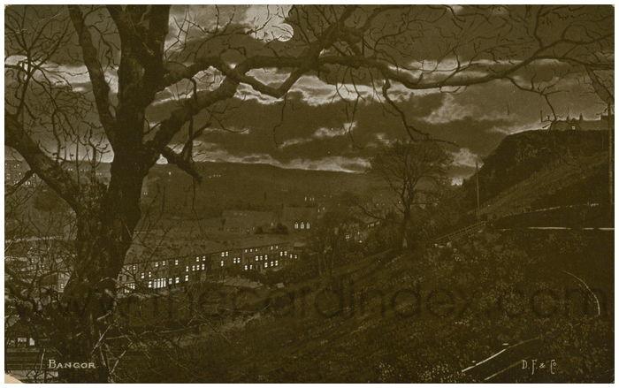 Postcard front: Bangor