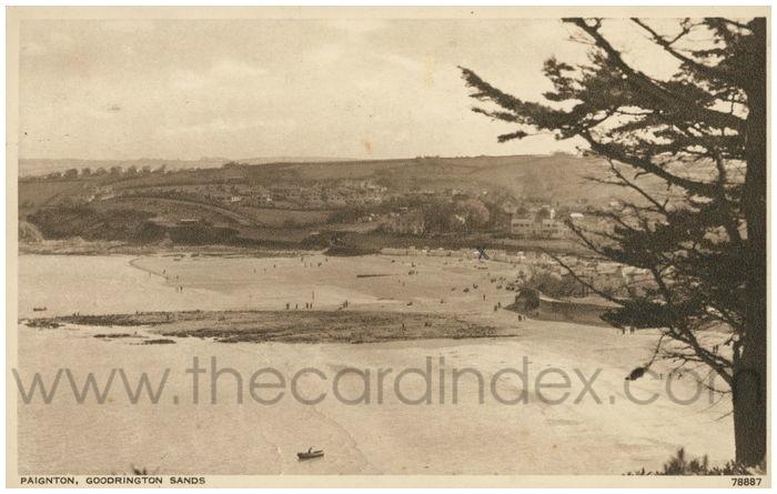 Postcard front: Paignton, Goodrington Sands