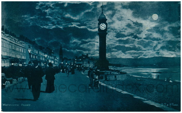 Postcard front: Weymouth Front.