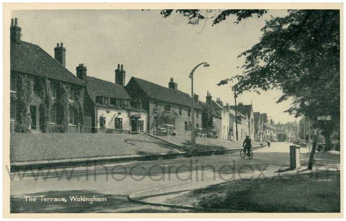 Postcard front: The Terrace, Wokingham