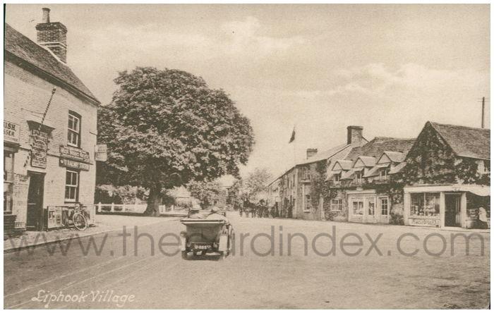 Postcard front: Liphook Village