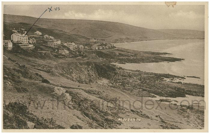 Postcard front: Mortehoe