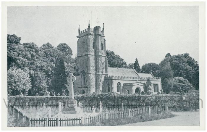 Postcard front: St. Giles. Bradford-on-Tone