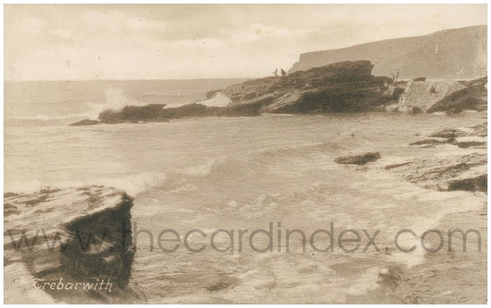 Postcard front: Trebarwith