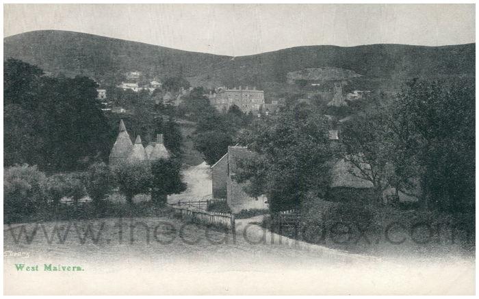 Postcard front: West Malvern