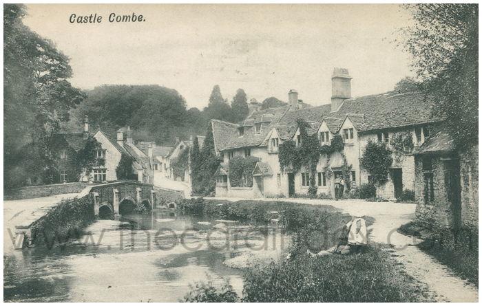 Postcard front: Castle Combe