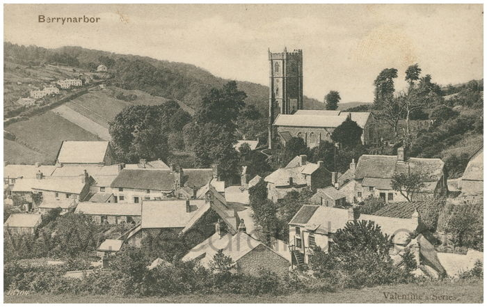 Postcard front: Barrynarbor