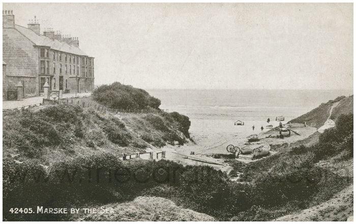 Postcard front: Marske By The Sea