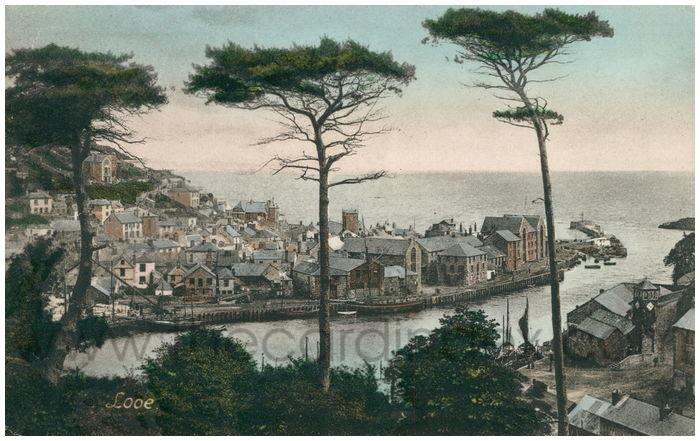 Postcard front: Looe