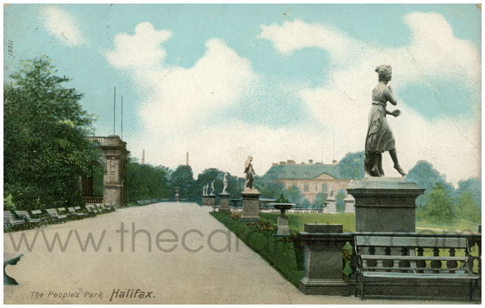 Postcard front: The People's Park, Halifax