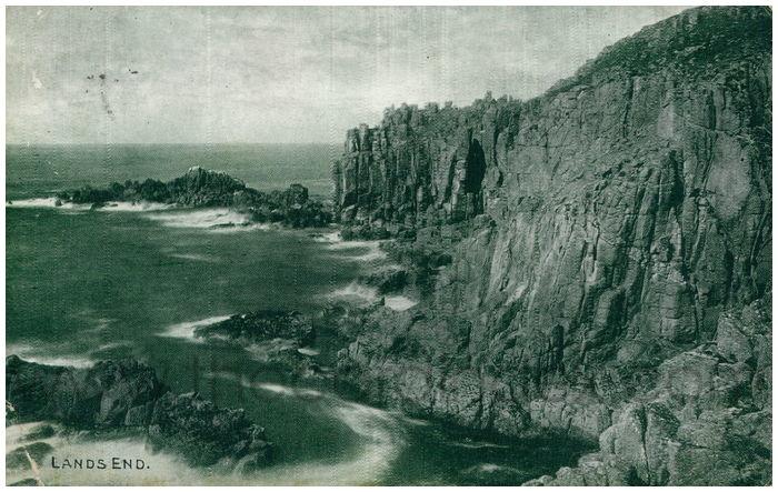 Postcard front: Lands End