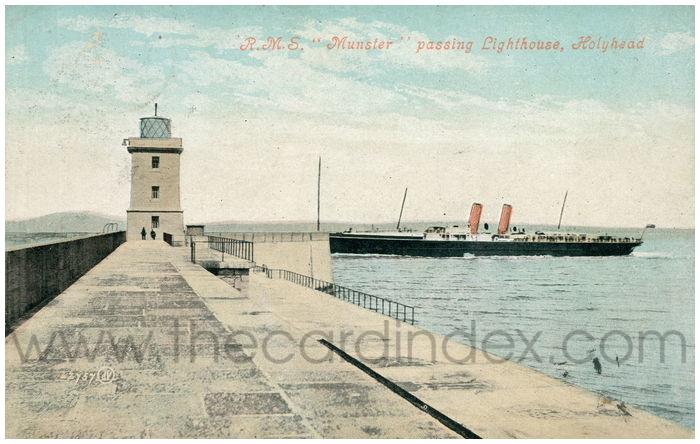 Postcard front: R.M.S.