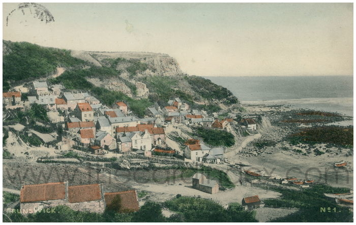 Postcard front: Brunswick