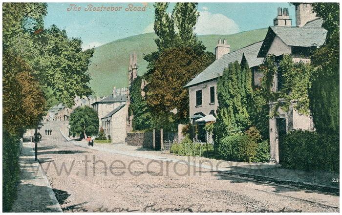 Postcard front: The Rostrevor Road