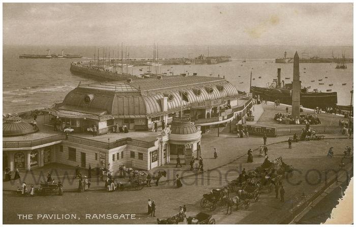 Postcard front: The Pavilion, Ramsgate