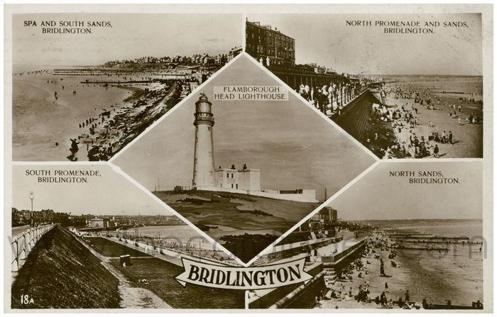 Postcard front: Bridlington
