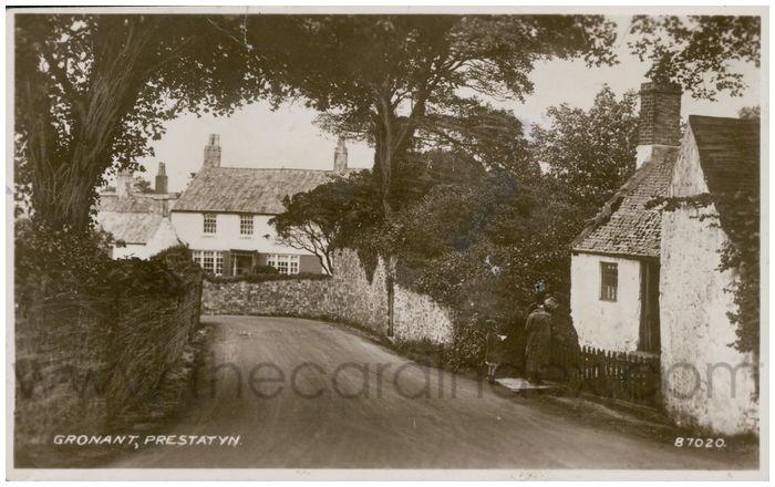 Postcard front: Gronant, Prestatyn.